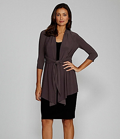 Jones New York Mock-Jacket Dress