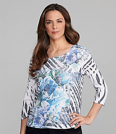 Westbound Woman Scoop Sublimation Top