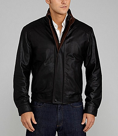 Daniel Cremieux Signature Sussex Leather Jacket