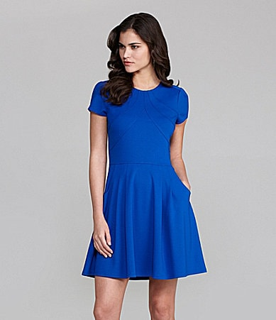 Gianni Bini Miller Ponte Swing Dress