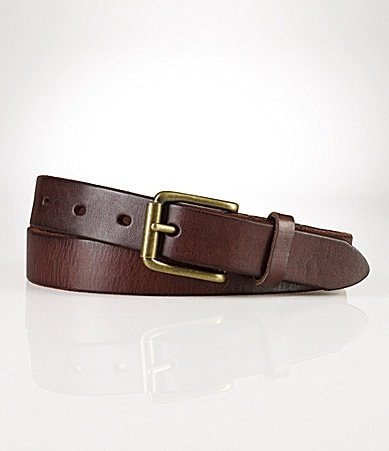 Polo Ralph Lauren Leather Officers Belt
