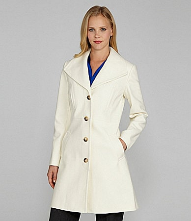 Antonio Melani Wing-Collar Coat