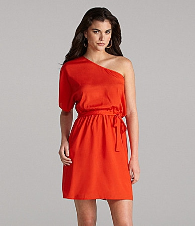 Gianni Bini Robyn One-Shoulder Dress