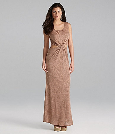Gianni Bini Rhonda Cutout Maxi Dress