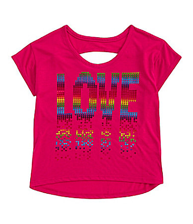 Forever Orchid 7-16 Dripping Love Top
