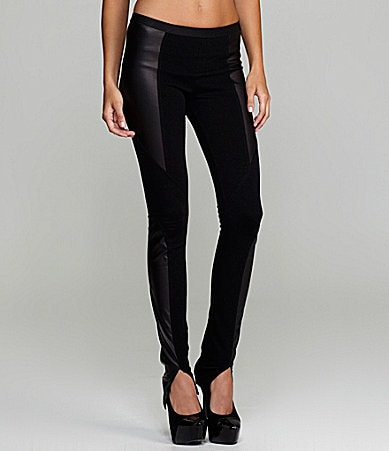 BCBGMAXAZRIA Faux-Leather Leggings