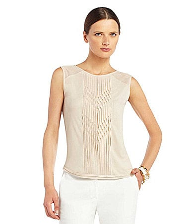 BCBGMAXAZRIA Dafina Sleeveless Top
