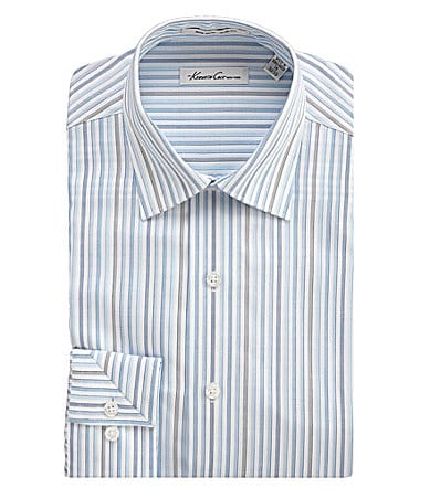 Kenneth Cole New York Fitted No-Iron Dress Shirt