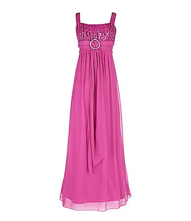 Ruby Rox 7-16 Emma Sequined Maxi Dress