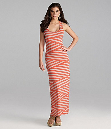 Gianni Bini Striker Maxi Dress