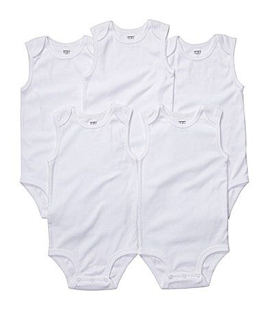 Carter�s Newborn Bodysuit 5-Pack