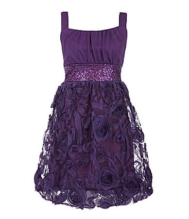 Ruby Rox 7-16 Soutache Bubble Dress