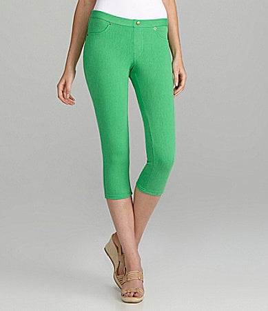 Memoi Chino Capri Leggings