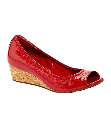 Cole Haan Air Tali OT 40 Peep-Toe Wedges