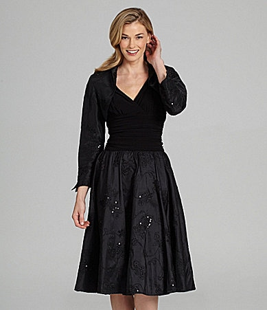 Jessica Howard 2-Piece Taffeta Party Dress