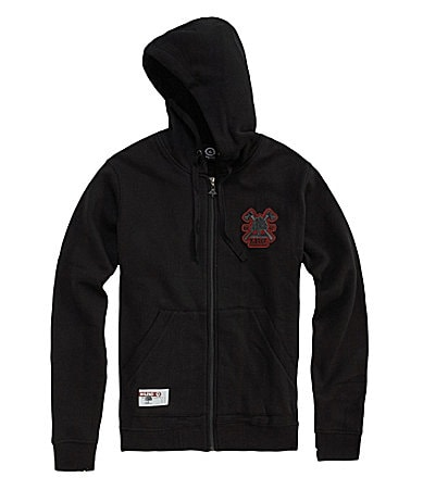 LRG Big & Tall Woodruff Zip-Front Hoodie