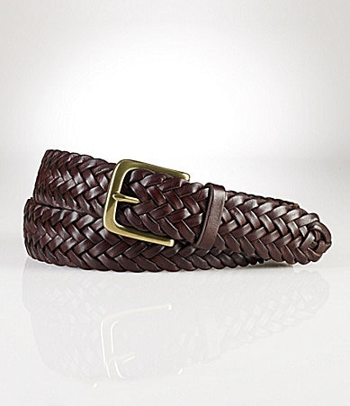 Polo Ralph Lauren Leather Braid Belt