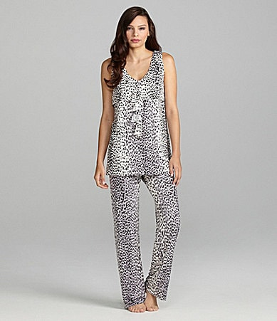 AK Anne Klein Animal Attractions Sleeveless Pajamas