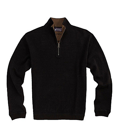 Cremieux Long-Sleeve Reversible Pullover