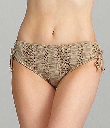 Antonio Melani Swim Crochet Tie-Side Bottom