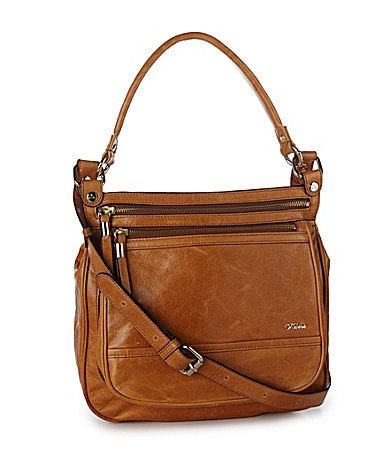 Tre Vero Top-Handle Messenger Cross-Body Bag