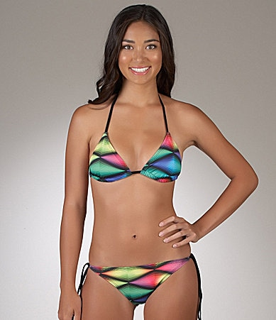 Hurley Dimension Triangle Top & Tie Side Bottom