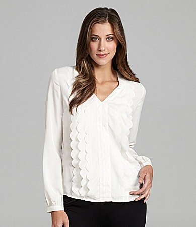 Aryn K. Scallop-Front Top