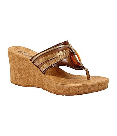 Clarks Yacht Marina Wedge Sandals