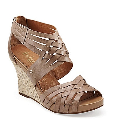 Clarks Sky Pocomo Wedge Sandals