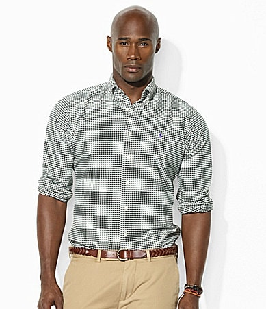 Polo Ralph Lauren Big & Tall Button-Down Collar Classic-Fit Oxford Dress Shirt