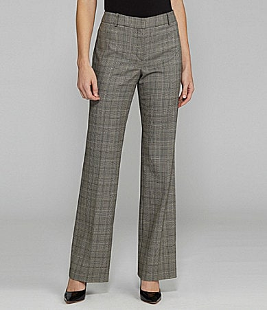 Jones New York Collection Flat-Front Pants