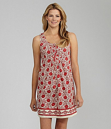 Nurture Sleeveless Floral Dress
