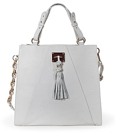 Elliott Lucca Narrillos Exotic Embossed Tote