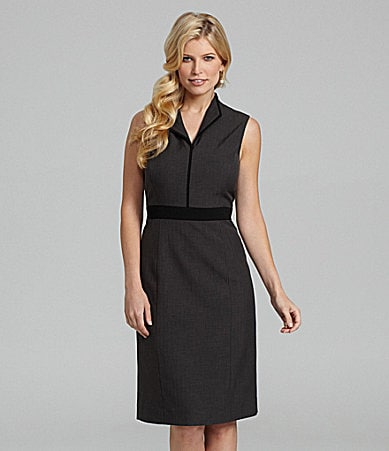 Preston & York Marianne Mini Herringbone Dress