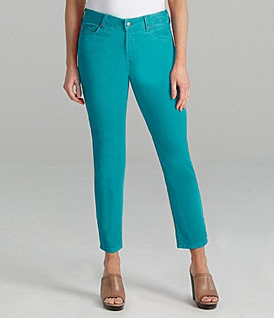 NYDJ Alisha Colored Ankle Jeans