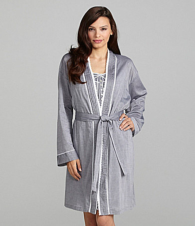 Eileen West Moonlight Tides Short Wrap Robe