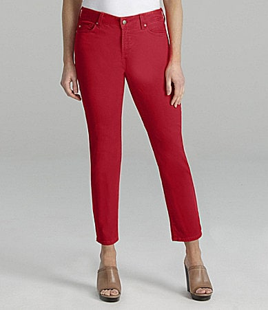 NYDJ Petite Alisha Colored Ankle Jeans