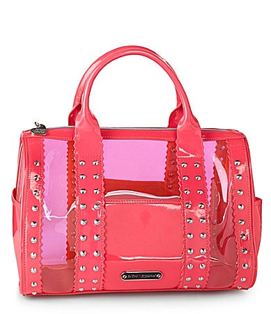 Betsey Johnson Neon Lights Jelly Satchel