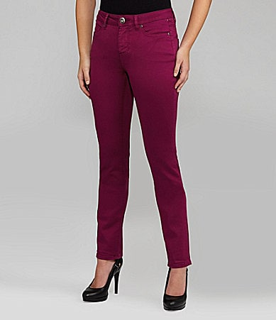 Liverpool Jeans Company Sadie Colored Sateen Straight Jeans