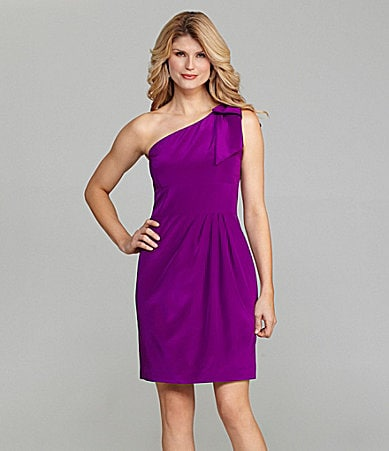 Antonio Melani Dianna One-Shoulder Dress