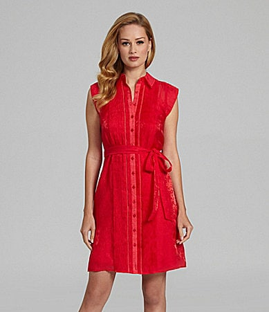 Antonio Melani Leocadia Summer Jacquard Shirtdress