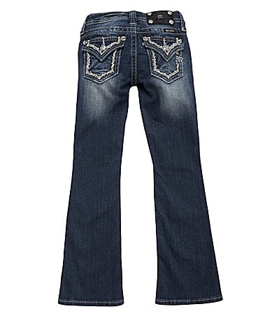 Miss Me Girls 7-16 Embroidered Vine Bootcut Jeans