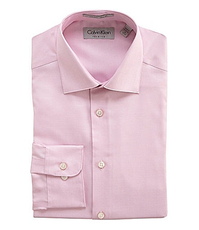 Calvin Klein Slim-Fit No-Iron Dress Shirt