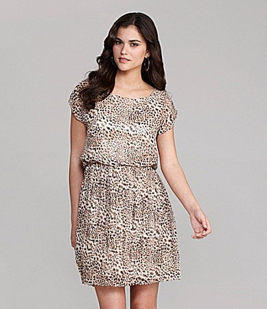 Gianni Bini Lalayna Cheetah Print Dress