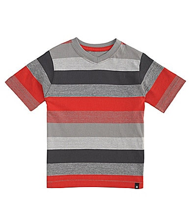 Hurley 2T-7 V-Neck Striped Tee