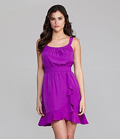 Gianni Bini Mel Ruffle Dress