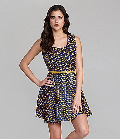 Gianni Bini Nomi Open-Back Dress