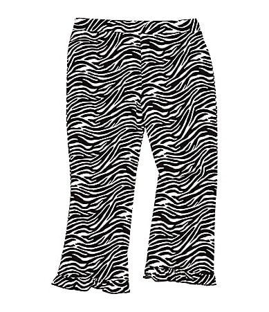 Copper Key 2T-6X Zebra Print Pants