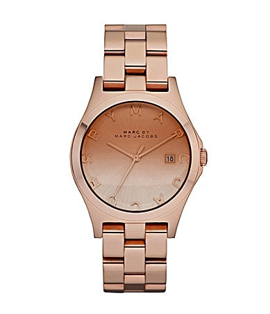 Marc By Marc Jacobs Ladies Henry Rose Gold Watch
