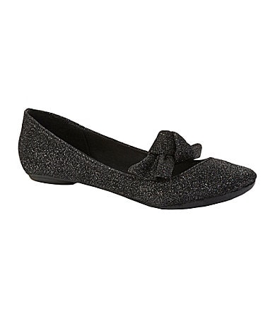Big Buddha Women�s Band Bow-Detail Flats